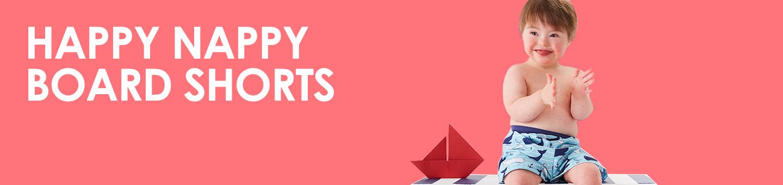 Happy Nappy Swim Board Shorts For Baby Boys Amp Girls