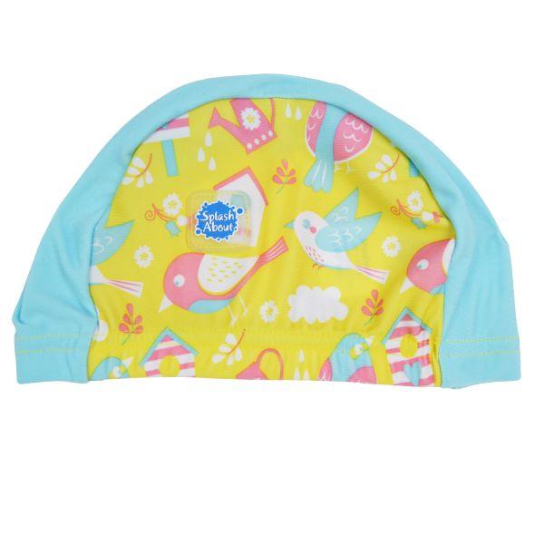 swim hat garden birds