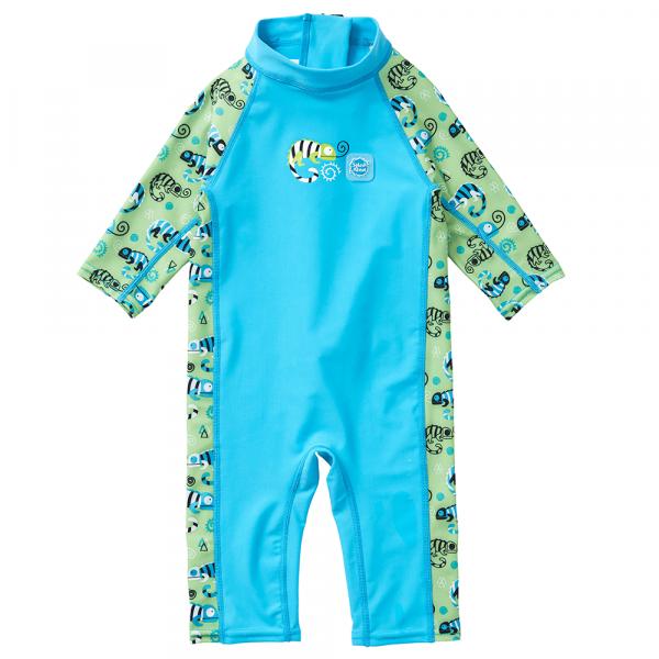 Toddler 3/4 Length UV Suit Green Gecko