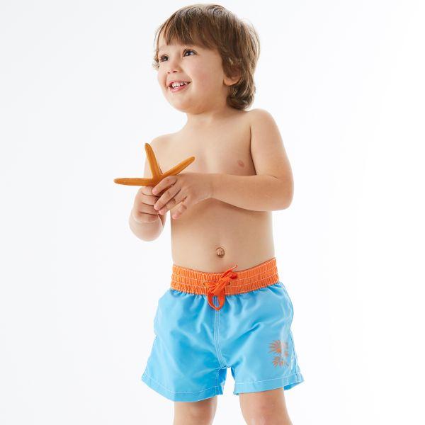 UV Board Shorts (Motif) Lion Fish 6-12 Months
