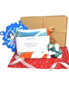 Hooded Towel Noah's Ark, Splash Pal & Splash Pals Mirror Gift Bundle