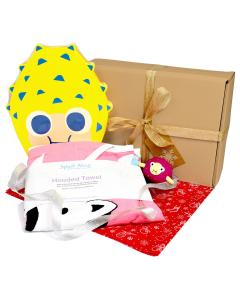 Nina's Ark Hooded Towel, Pufferfish Float Board & Pufferfish Toy Gift Bundle