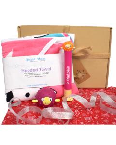 Nina's Ark Hooded Towel, Pufferfish Dive Sticks & Pufferfish Toy Gift Bundle
