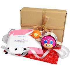 Hooded Towel Nina's Ark, Pufferfish Ball, Pufferfish Gift Bundle
