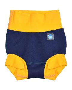 New Happy Nappy™ Navy & Yellow