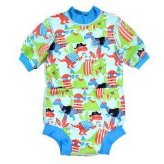 Happy Nappy™ Wetsuit Dino Pirates