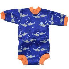 Happy Nappy™ Wetsuit Shark Orange