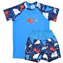 Under the Sea Splash Jammers & UV Rash Top Bundle