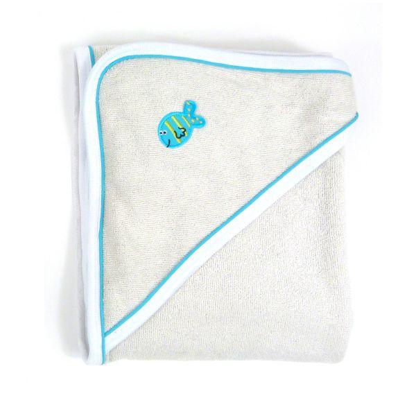 Apres Splash Hooded Towel Turquoise