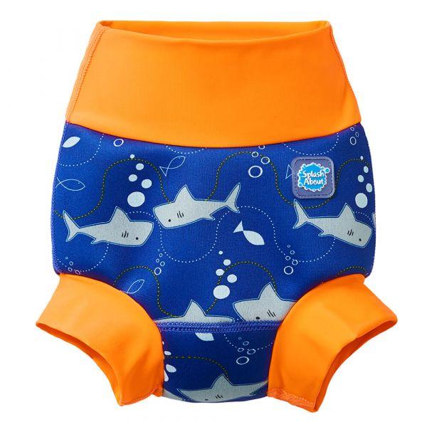 New Happy™ Nappy Shark Orange