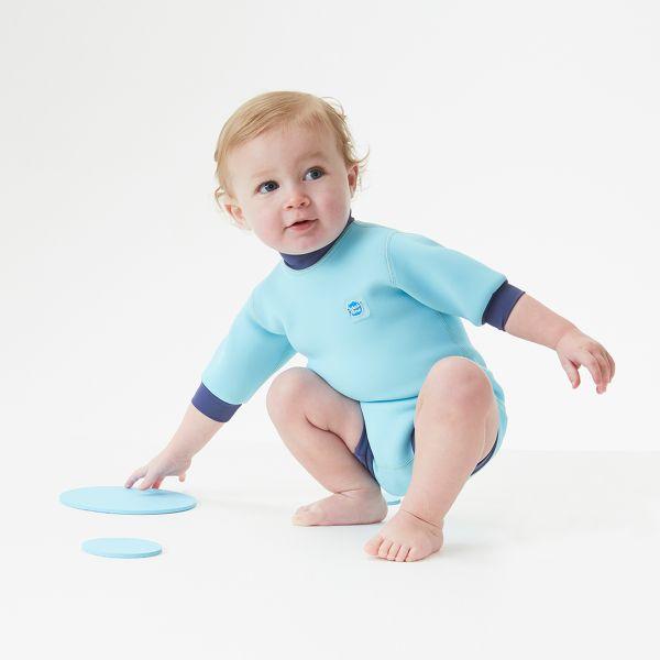 happy nappy wetsuit blue cobalt