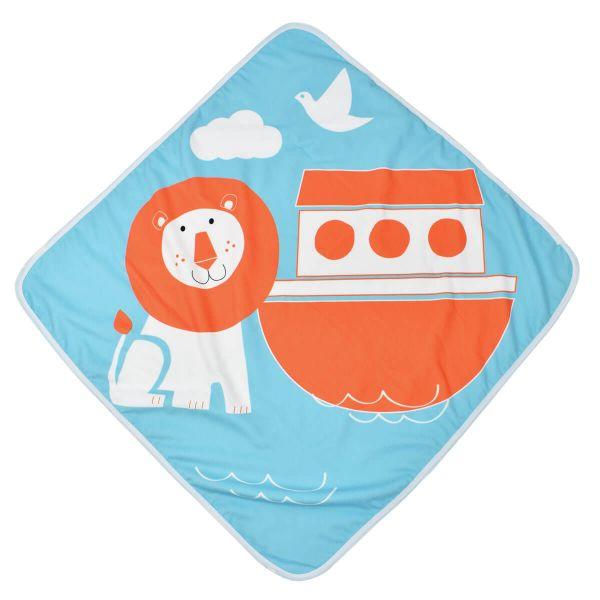 Baby Hooded Towel Noah's Ark
