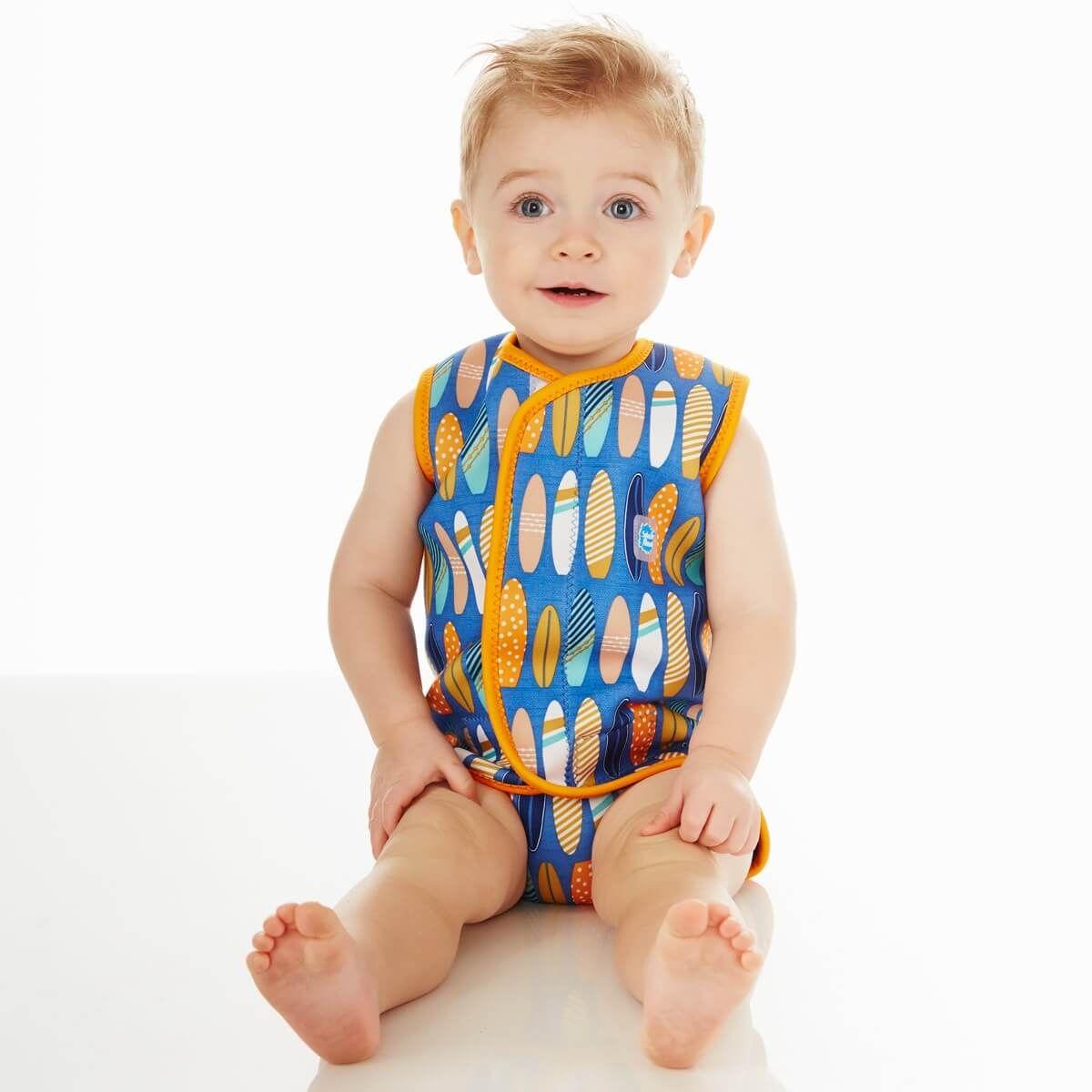 Baby Wrap Surfs Up Baby Toddler Neoprene Warmer Wetsuit