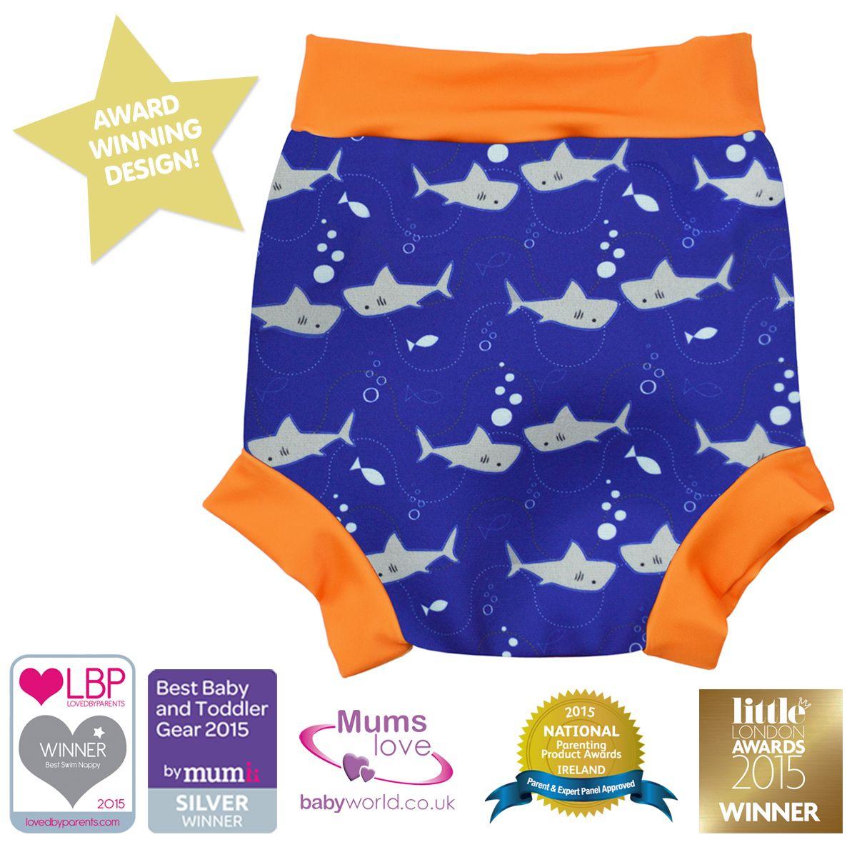 Shark Print Baby Wrap Wetsuit Baby Swimwear Swimwear