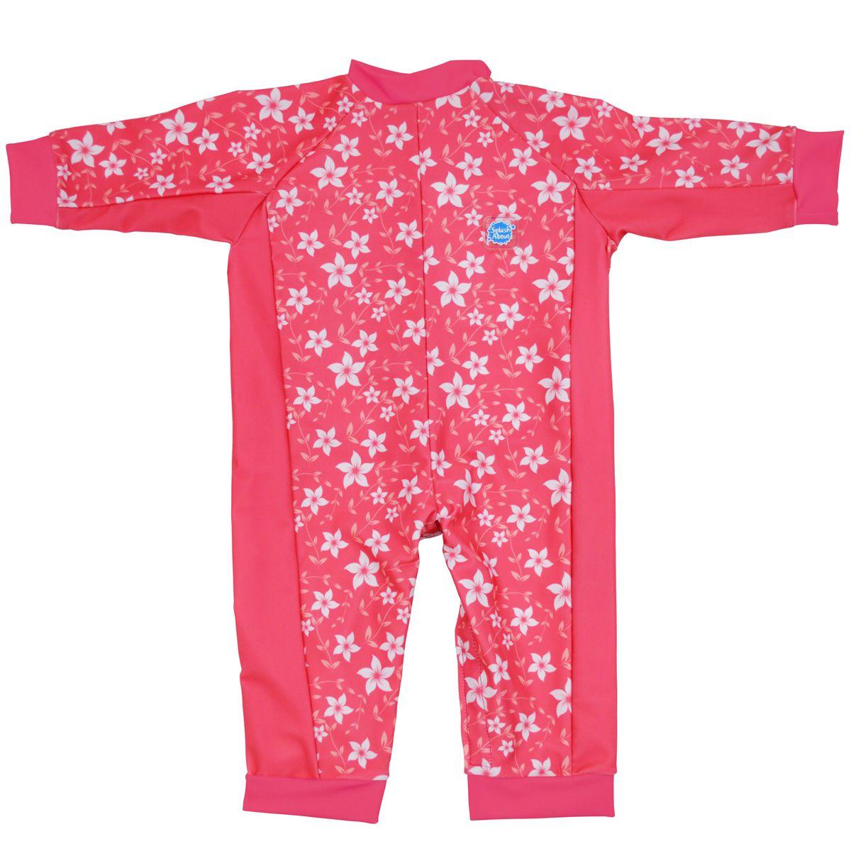 25e2888c5d6b3 Girls Pink Blossom Eczema/Beach Swimsuit for Babies (UV/Sun Protection)