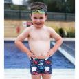 Boys Trunks Aqua Shorts Under the Sea