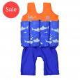 Short John Float Suit Shark Orange