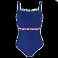 Ladies Nautical Swimming Costume