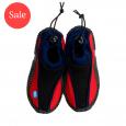 Splash Shoe Red with Navy