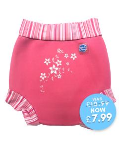 Happy Nappy™ Pink Blossom Motif