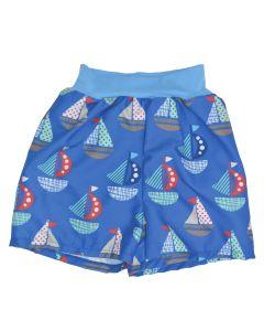 Happy Nappy™ Board Shorts Set Sail