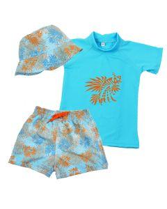 Lion Fish Rash Top, Shorts and Hat