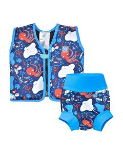 Go Splash Float Jacket and Happy Nappy - Under The Sea