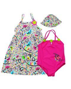 Birdy Sundress, Swimsuit & Hat