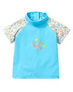 Designer Short Sleeve Rash Top Flora Bimbi