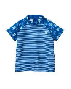 Designer Short Sleeve Rash Top Turtle Mania
