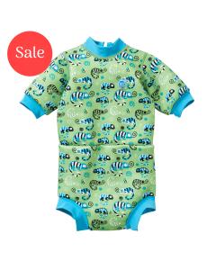 Happy Nappy™ Wetsuit Green Gecko
