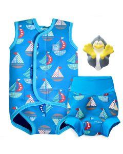 Set Sail Happy Nappy, Baby Wrap and Splash Pal