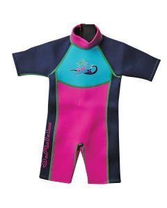 Surf Shortie Wetsuit Pink