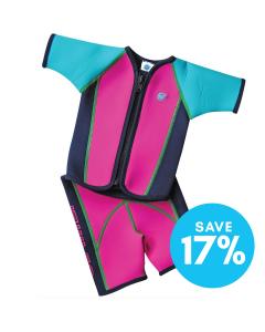 Jacket and Shorts Surf  Pink