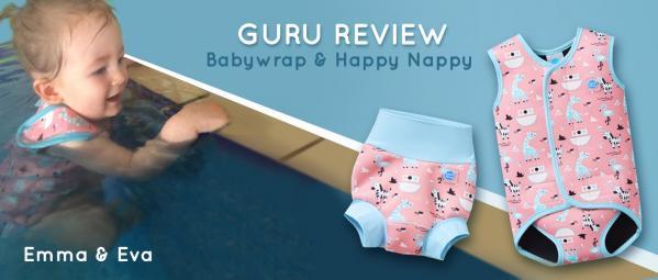 Guru Review Emma and Eva : Baby Wrap & Happy Nappy