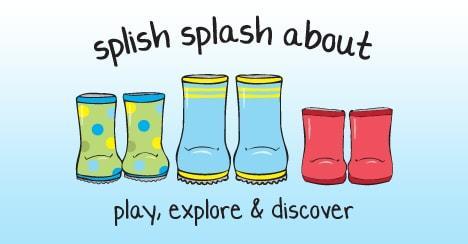 Let's Splash About Outside