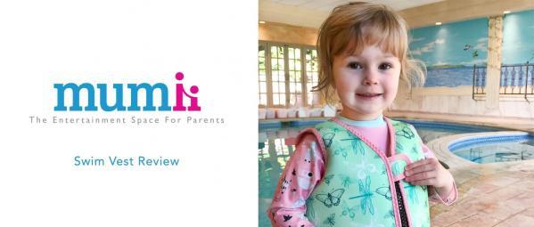 Mumii VIP Jonathan's Review of Go Splash Swim Vest
