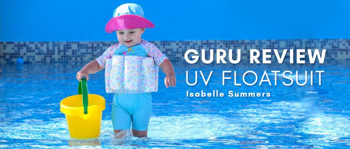 Guru Reviews Isabelle and Alyce: UV Floatsuit