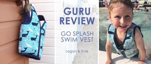 Guru Reviews Samantha & Logan: Go Splash Swim Vest
