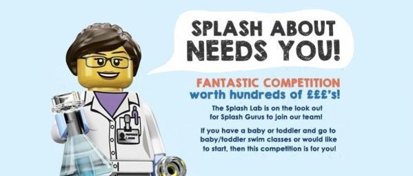 We are looking for Splash Gurus!!