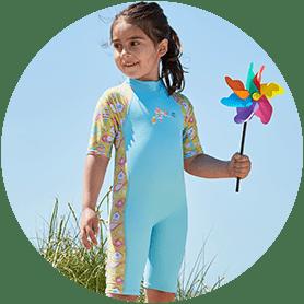 UV Sun & Sea Wetsuit Garden Birds