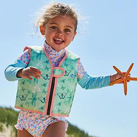 go splash swim vest dragonfly